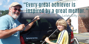 """Every great achiever is inspired by a great mentor"" - Lailah Gifty Aki"