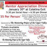 Mentor Appreciation Dinner