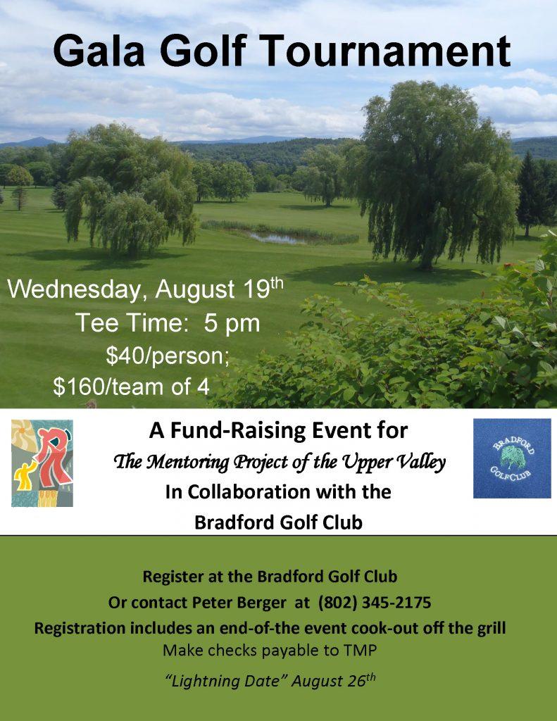 Gala Golf Tournament @ Bradford Golf Course